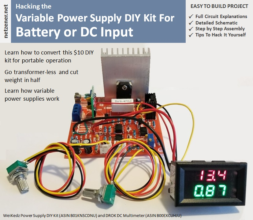 Portable Variable Power Supply - Part 1 on